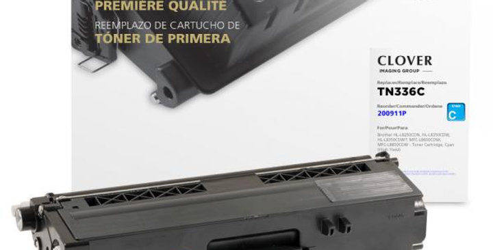 High Yield Cyan Toner Cartridge for Brother TN336