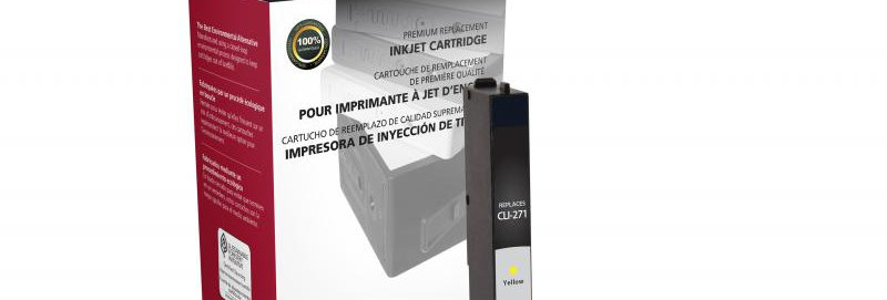 Yellow Ink Cartridge for Canon CLI-271