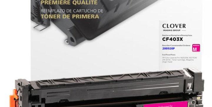 High Yield Magenta Toner Cartridge for HP CF403X (HP 201X)