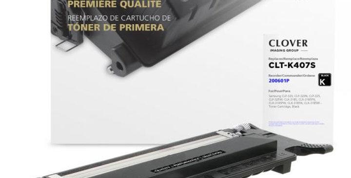 Black Toner Cartridge for Samsung CLT-K407S
