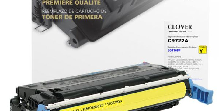 Yellow Toner Cartridge for HP C9722A (HP 641A)