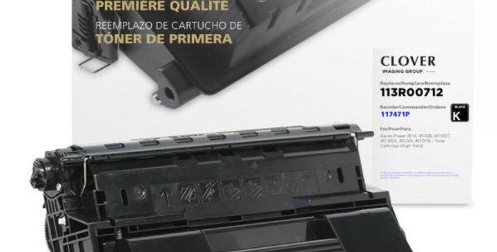 High Yield Toner Cartridge for Xerox 113R00712/113R00711
