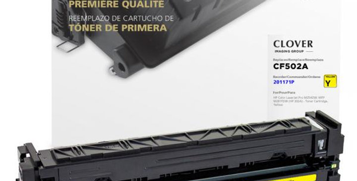 Yellow Toner Cartridge for HP CF502A (HP 202A)
