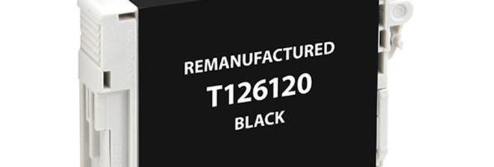 EPC Remanufactured High Capacity Black Ink Cartridge for Epson T126120