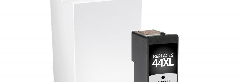 High Yield Black Ink Cartridge for Lexmark #44XL