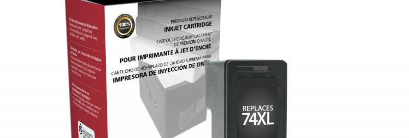 High Yield Black Ink Cartridge for HP CB336WN (HP 74XL)