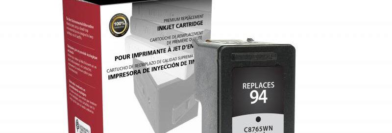 Black Ink Cartridge for HP C8765WN (HP 94)