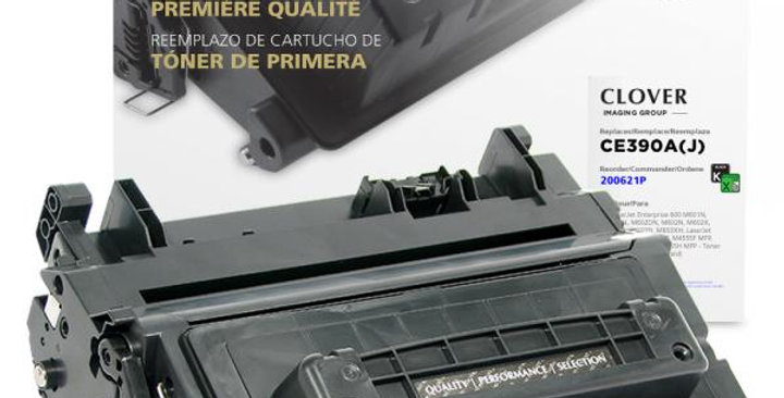 Extended Yield Toner Cartridge for HP CE390A
