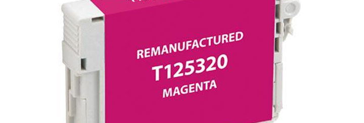 EPC Remanufactured Magenta Ink Cartridge for Epson T125320