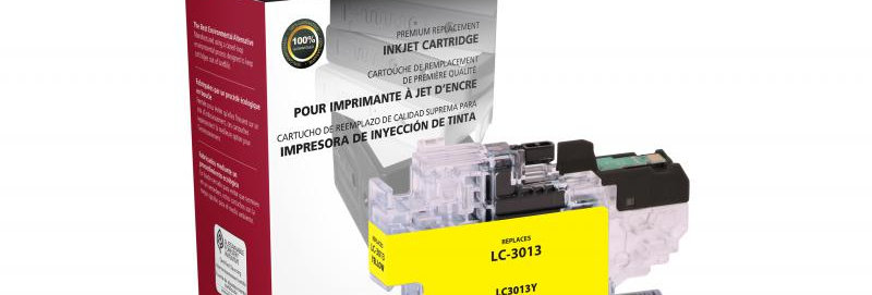 Non-OEM New High Yield Yellow Ink Cartridge for Brother LC3013