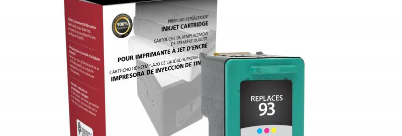 Tri-Color Ink Cartridge for HP C9361WN (HP 93)