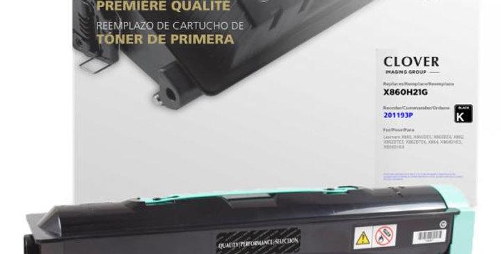 High Yield Toner Cartridge for Lexmark X860