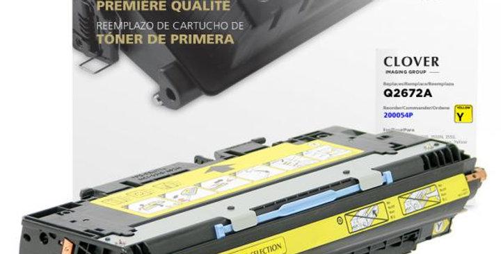 Yellow Toner Cartridge for HP Q2672A (HP 309A)