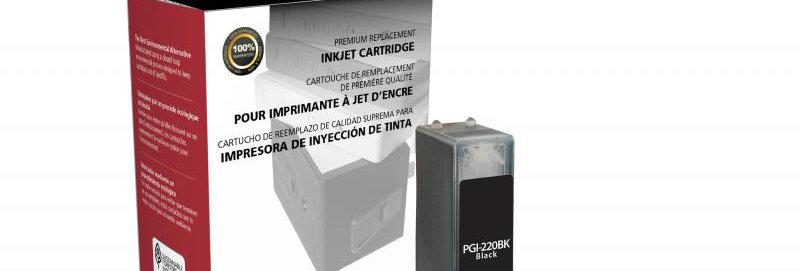 Black Ink Cartridge for Canon PGI-220