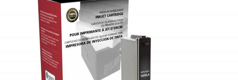 High Yield Cyan Ink Cartridge for Lexmark #100XL