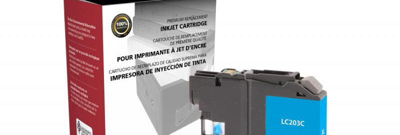 High Yield Cyan Ink Cartridge for Brother LC203XL