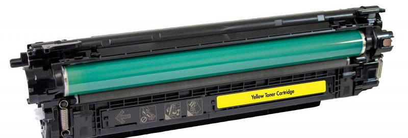 Extended Yield Yellow Toner Cartridge for HP CF362X