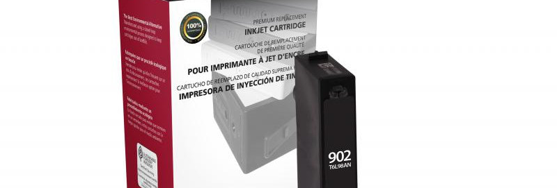 Black Ink Cartridge for HP T6L98AN (HP 902)