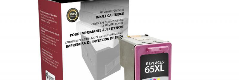 High Yield Tri-Color Ink Cartridge for HP N9K03AN (HP 65XL)