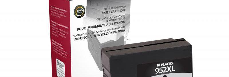 High Yield Black Ink Cartridge for HP F6U19AN (HP 952XL)