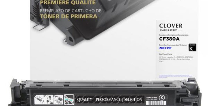 Black Toner Cartridge for HP CF380A (HP 312A)
