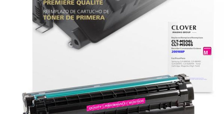 High Yield Magenta Toner Cartridge for Samsung CLT-M506L/CLT-M506S