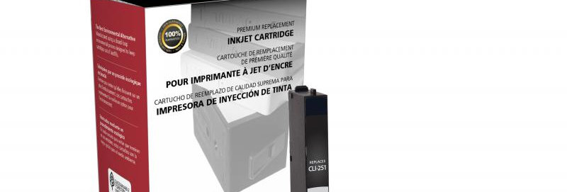 Black Ink Cartridge for Canon CLI-251