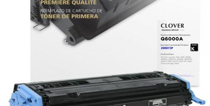 Black Toner Cartridge for HP Q6000A (HP 124A)