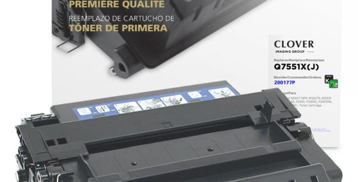 Extended Yield Toner Cartridge for HP Q7551X