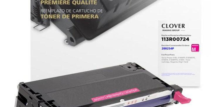 High Yield Magenta Toner Cartridge for Xerox 113R00724
