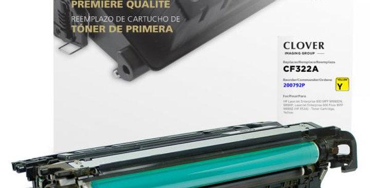 Yellow Toner Cartridge for HP CF322A (HP 653A)