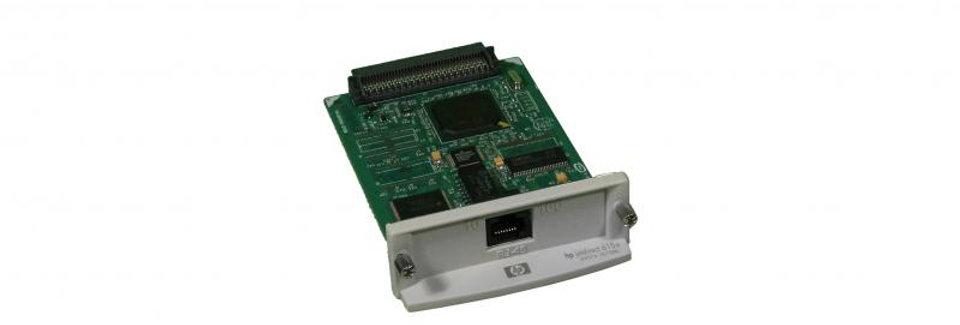 Remanufactured HP 615N Refurbished JetDirect Card