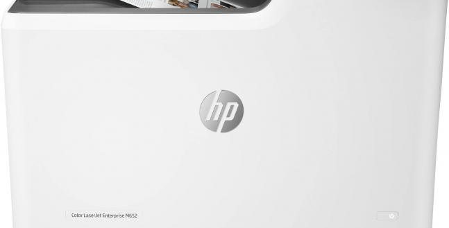 HP Color LaserJet Enterprise M652n Recertified Printer