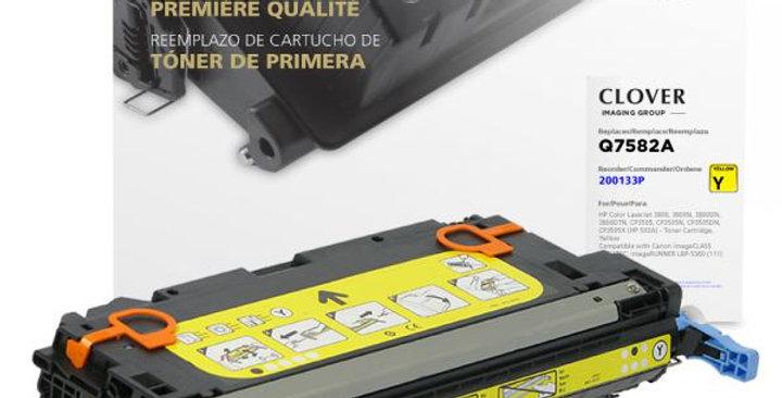 Yellow Toner Cartridge for HP Q7582A (HP 503A)