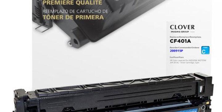 Cyan Toner Cartridge for HP CF401A (HP 201A)