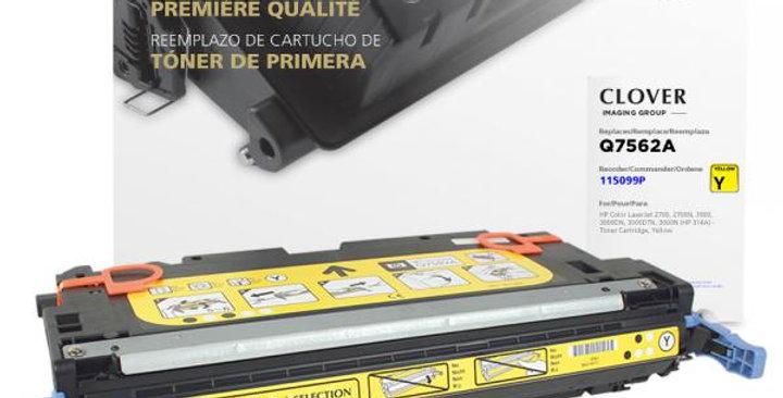 Yellow Toner Cartridge for HP Q7562A (HP 314A)