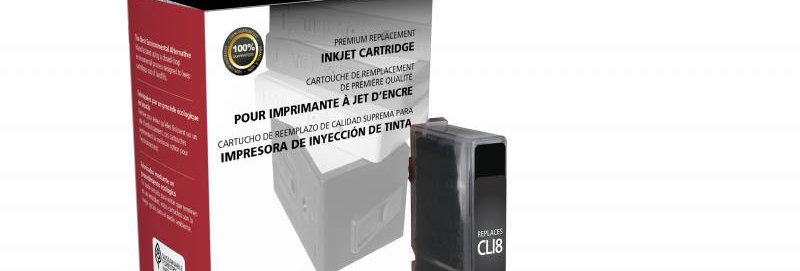 Black Ink Cartridge for Canon CLI-8