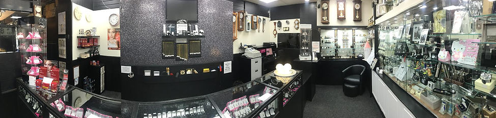 inside Phillips Jewellers Cleveleys