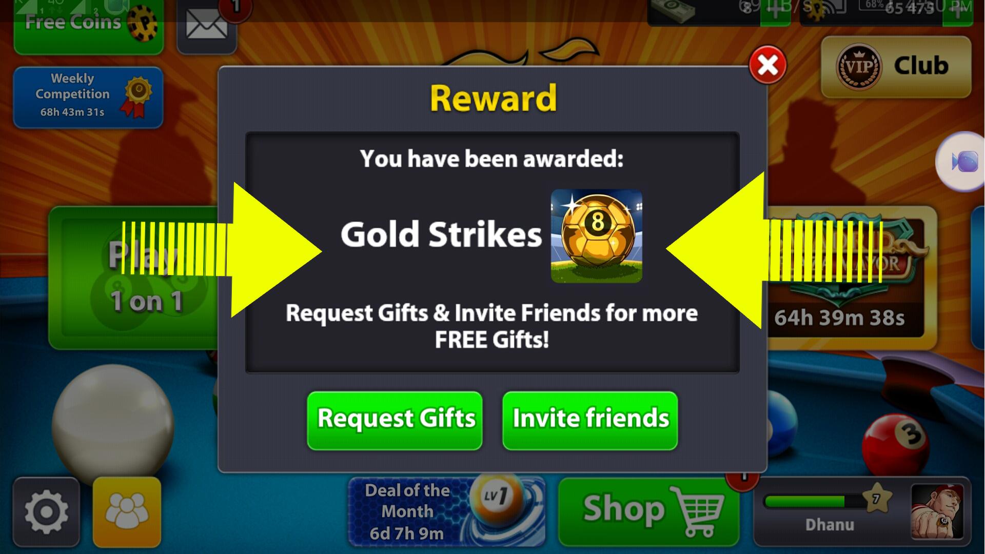 8 Ball Pool - Free Coins + New Soccer Avatar Tricks Links ...