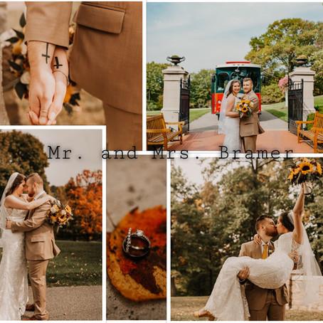 Mrs. and Mrs. Bramer || Oglebay Wedding