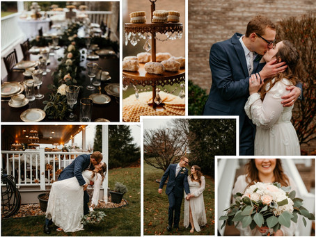 Mr. and Mrs. Bargiel \\ Backyard Pittsburgh Wedding