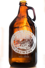 Growler from Coal Tipple Brewery used for promotional social media advertisement.
