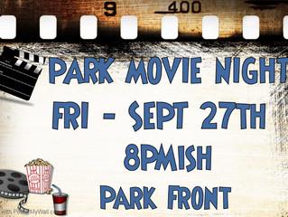 Park Movie Night 27SEP2019