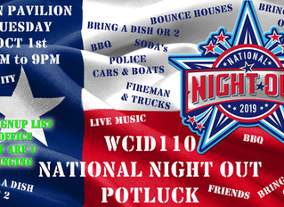 National Night Out Potluck