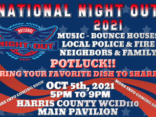 National Night Out Potluck 2021