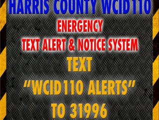 WCID110 EMERGENCY TEXT APP