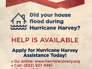 Still Recovering from Harvey?