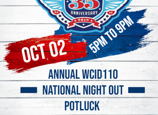 WCID110 National Night Out 2018