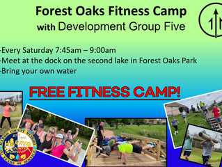 Fitness Bootcamp Every Saturday