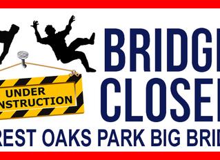 Park Bridge Closed